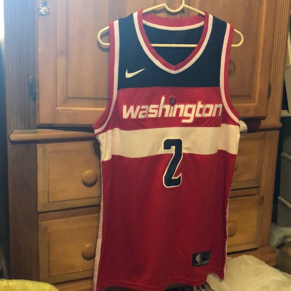 huge selection of c60aa 8a5f1 Washington Wizards Red John Wall Jersey